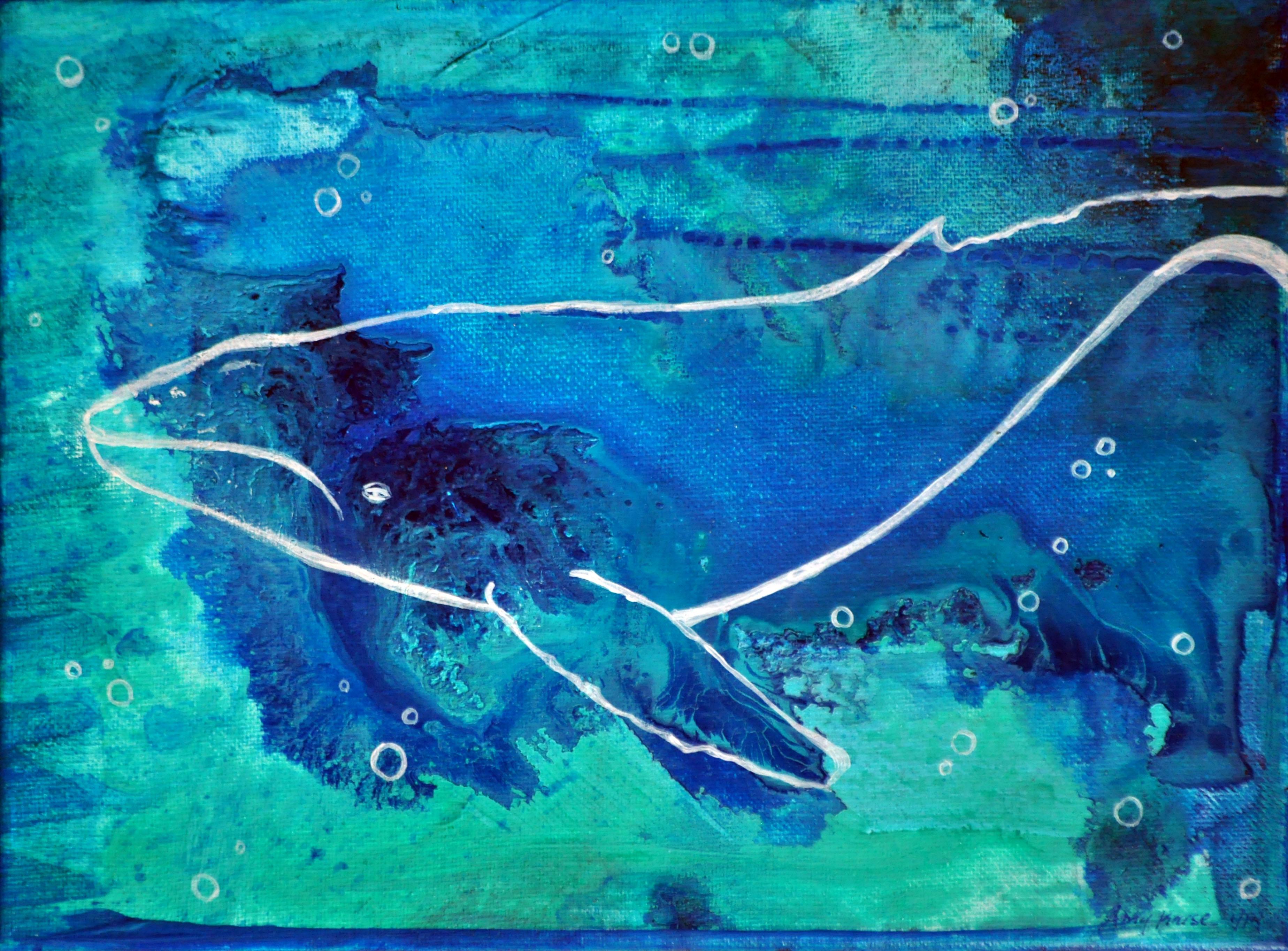 Blue Whale Art Blue whale (1/14)